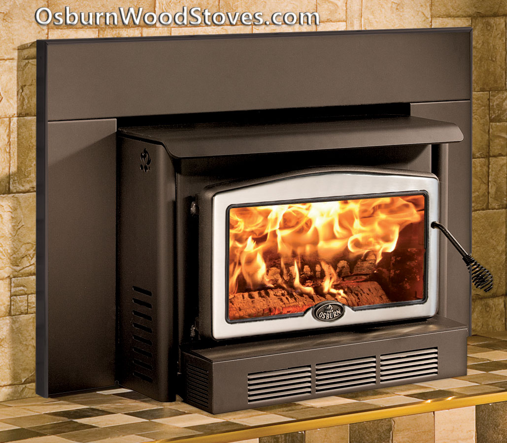 Upgrade with an Osburn! - Osburn 2400. The Osburn 2400 Fireplace Insert At OsburnWoodStoves.com