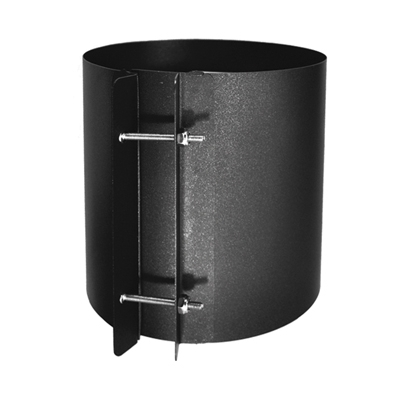 Sp00210 6 Quot Coupling Section Single Wall Black