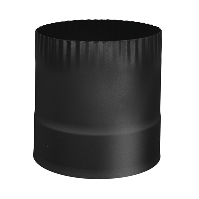 Sp00350 6 Quot Stove Connector Single Wall Black